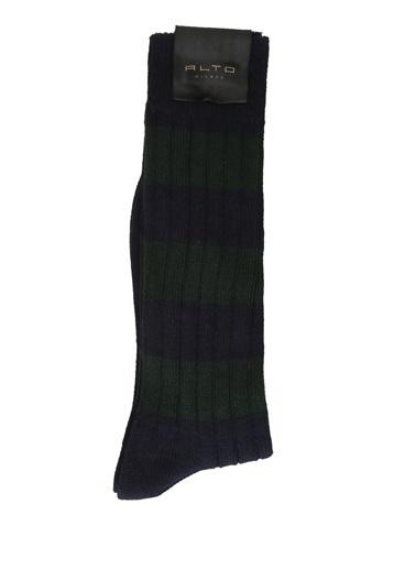 Alto Socks Alto Socks   Ribli Erkek Çorap 101560336 Lacivert